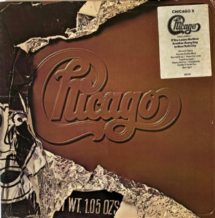 Chicago - Chicago X (LP) (VG-/VG-)